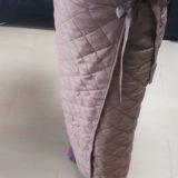 この防寒巻きスカートがとても便利!
