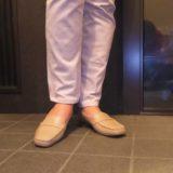 リーガルの靴は足によくフィットします。