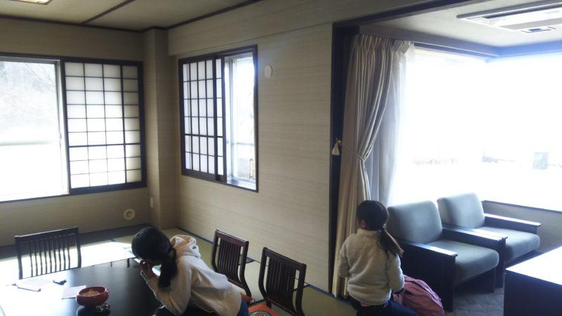 伊香保温泉の岸権旅館は、消臭対応のお部屋でしたが、広くて綺麗で満足できました♪