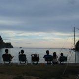 親子6人夏物語in伊豆のキャンプ場
