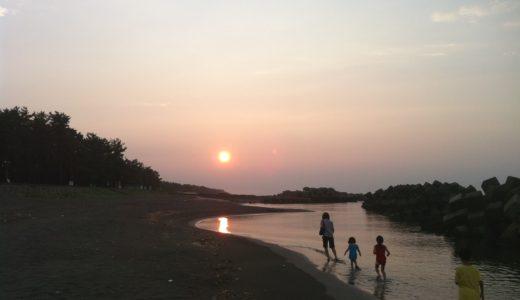 帰省の中継地点でキャンプ ~富山県の浜黒崎キャンプ場~