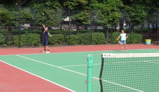猛暑日にテニスをしてみての感想