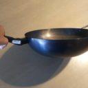 この鉄鍋、地道に育てていきます…