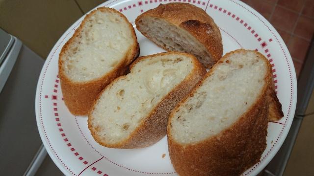 フランスパンでフレンチトーストを作ってみます♪