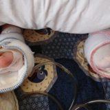 母は両膝関節手術を受けました。