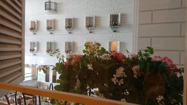 吉祥寺第一ホテルの部屋から。窓の向こうは南プロバンスのよう♪