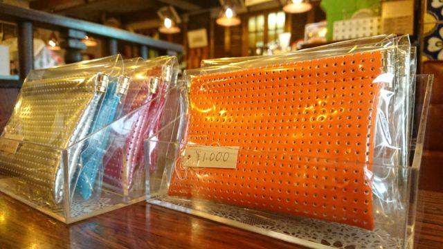 福山雅治さん主演の「三度目の殺人」のロケ地になった喫茶店に、Jaane Matane製品を置いてもらっています。